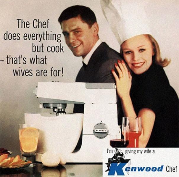 Women in vintage ads