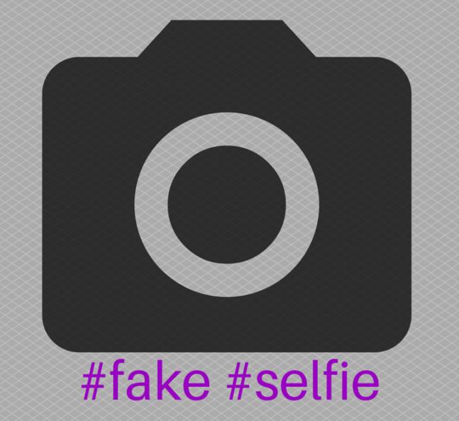 #fake #selfie