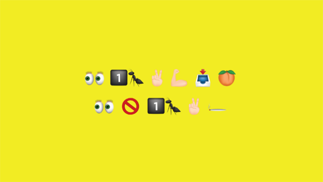 Emoji billboard